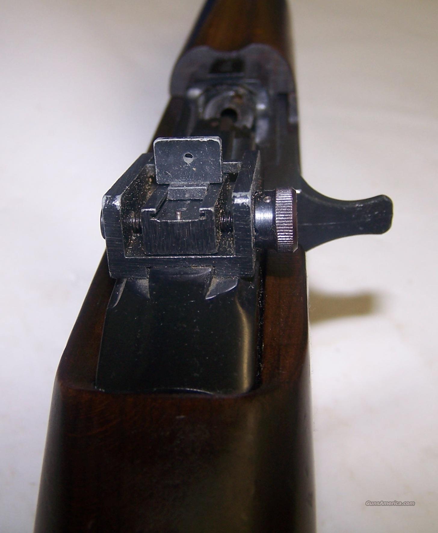 Erma werke model e m1 carbine bolt action rifle 22lr