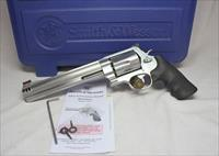 "Smith & Wesson Model 500 ~ .500 S&W Magnum Revolver ~ 8"" Barrel ~  BOX, PAPERS"