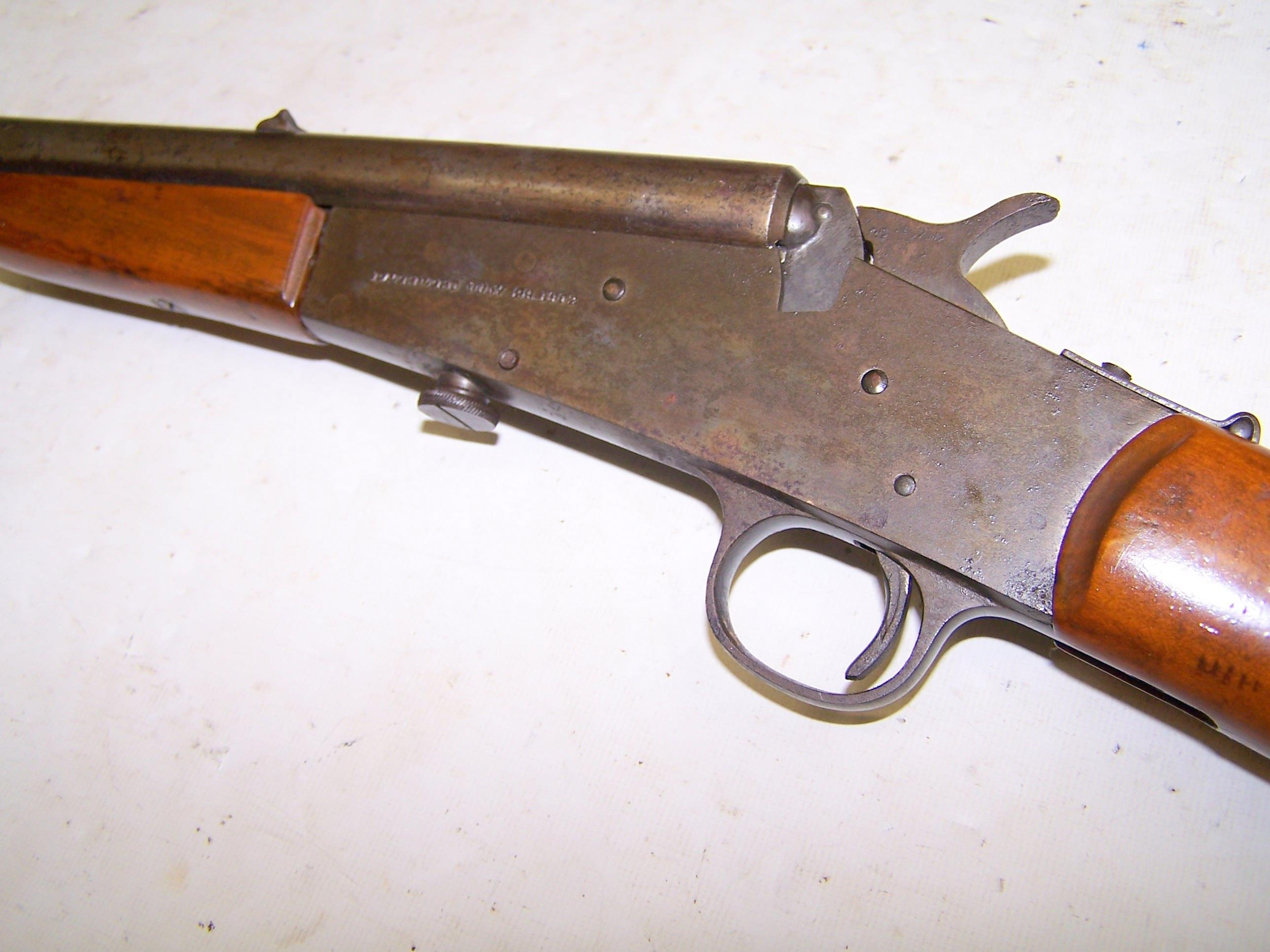 Remington 1902 Model 6 FALLING BLOCK RIFLE .22 ... for sale