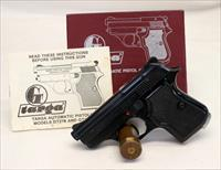 TARGA Model GT27B semi-automatic pistol ~ .25 ACP ~ Box & Manual ~ EXCAM Import