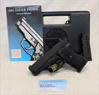 Early SIG SAUER P239 semi-automatic pistol ~ 9mm ~ 1995/1996 Mfg. ~ BOX & MANUAL ~ GERMANY