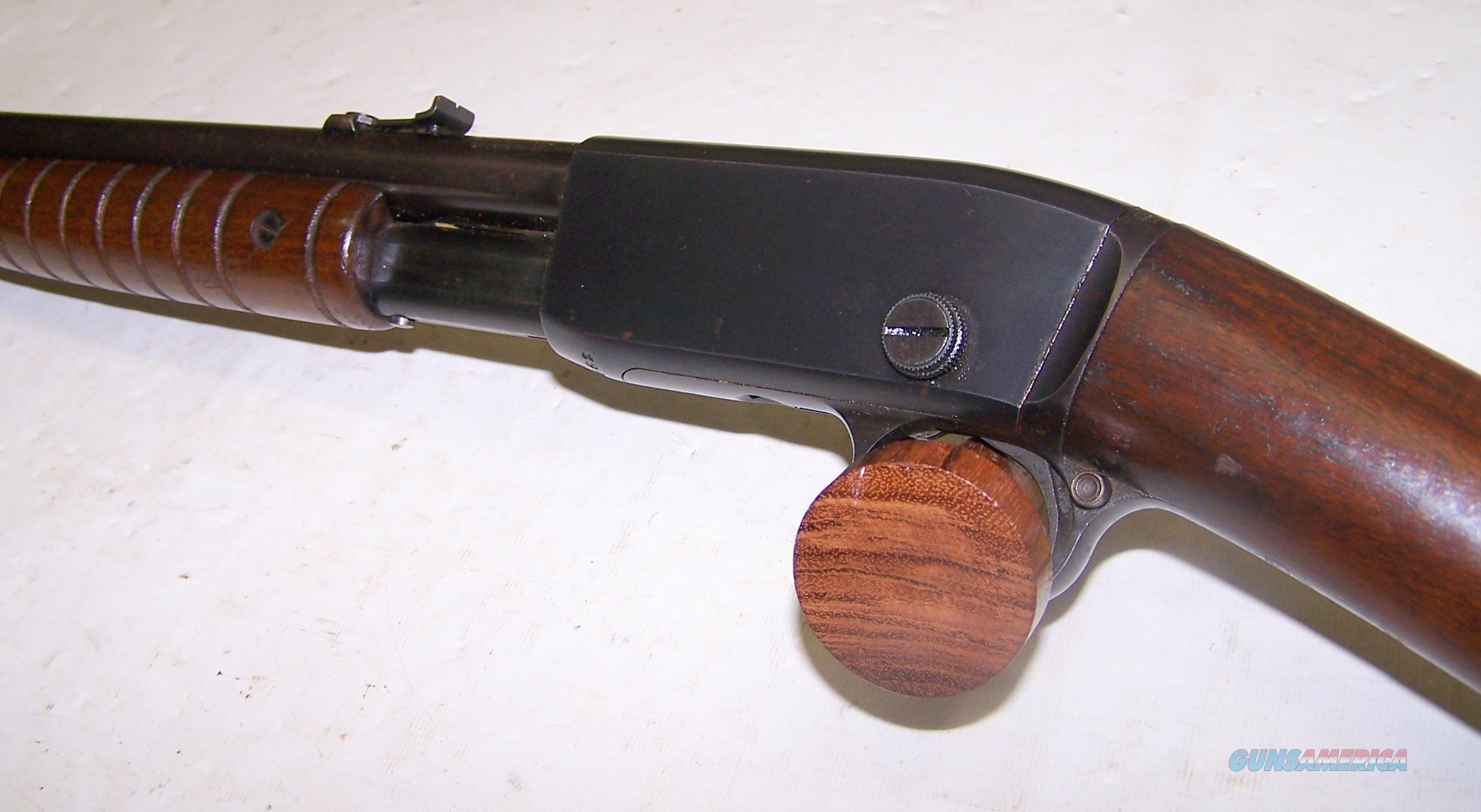 Remington Model 12A pump action rifle .22 S, L, LR (UMC...