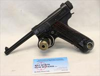 WWII era Japanese NAMBU semi-automatic pistol ~ 8mm ~ Type 14 ~ Matching Numbers