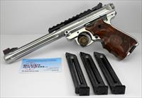 Ruger Mark IV HUNTER Semi-automatic Pistol ~ Excellent ~ Scope Rail & (4) 10rd Magazines!