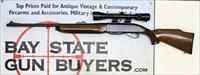 Remington Model 74 ~ Semi-automatic rifle ~ 30-06 Cal ~ Bushnell 3X-9X-38 Scope
