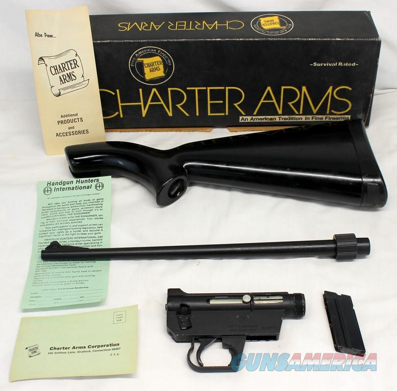 Charter Arms AR 7 EXPLORER Semi Automatic SURVIVAL RIFLE 22LR Box Manual