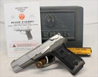 Ruger P89 DC semi-automatic pistol ~ 9mm ~ BOX, MANUAL & EXTRA MAGAZINE