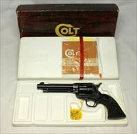 "Colt Single Action Army revolver ~ ,45LC ~ 5 1/5"" ~ BOX & PAPERS"
