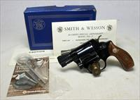 Smith & Wesson Model 37 Airweight Chiefs Special ~ UNFIRED IN ORIGINAL BOX ~ NO Dash