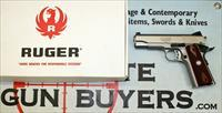 Ruger SR1911 COMMANDER semi-automatic pistol .45ACP ~ With (2) mags, box & papers