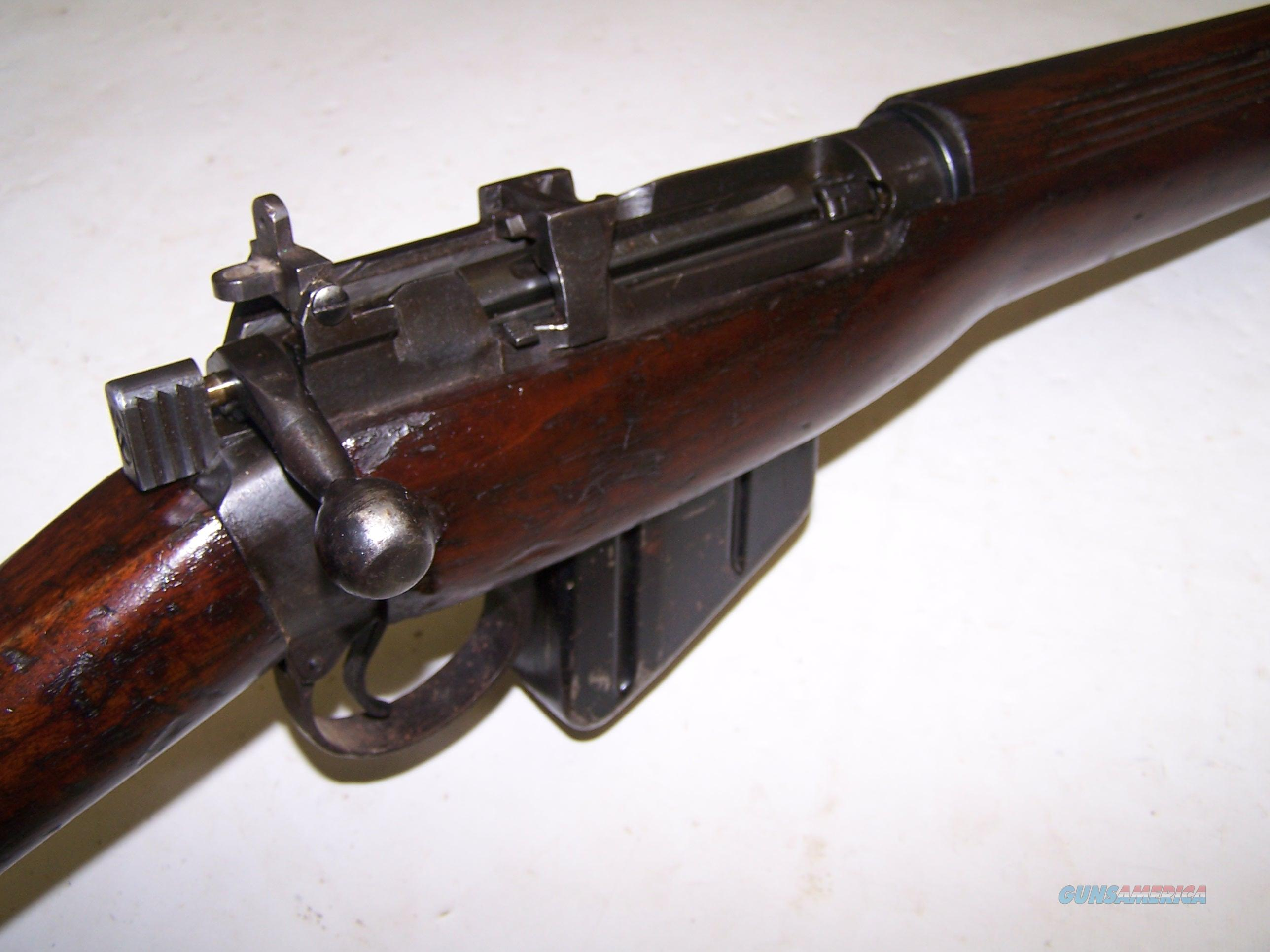 ENFIELD No4 MK1 bolt action rifle  303 British Cal  ROF Fazakerley FIELD  USED