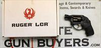 Ruger LCR Revolver ~ .38 Spl +P ~ BOX AND PAPERS