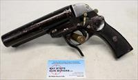 Original German WWII Luftwaffe Double Barrel Flare Pistol by Krieghoff - Dated 1942
