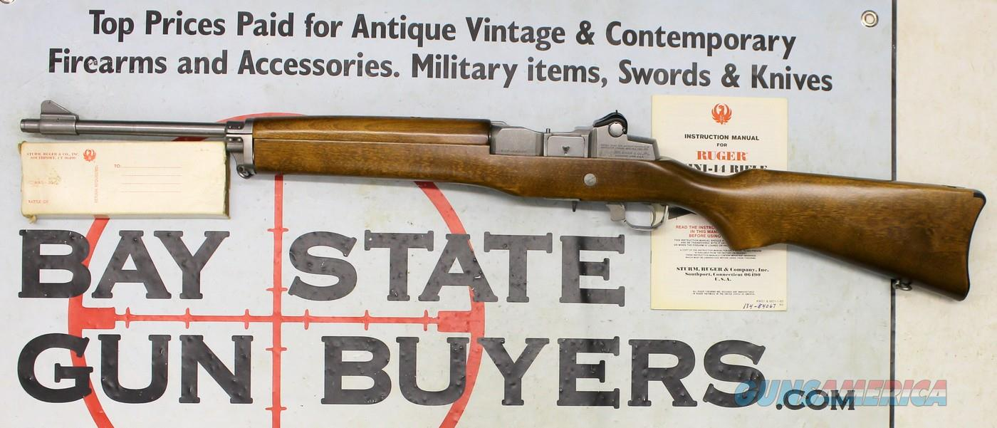 Ruger MINI 14 semi-automatic rifle ~ .223 Caliber ~ 20rd. Extended Magazine