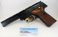 High Standard MODEL 107 Military THE VICTOR semi-automatic pistol ~ .22LR ~ Scope Rail