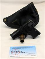 1968 FN Browning BABY BROWNING semi-automatic pistol ~ .25 ACP ~ Browning Zipper Pouch