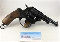 French MAS 1873 Model Revolver ~ 11mm ~ Dated 1876 ~ Antique Military Gun