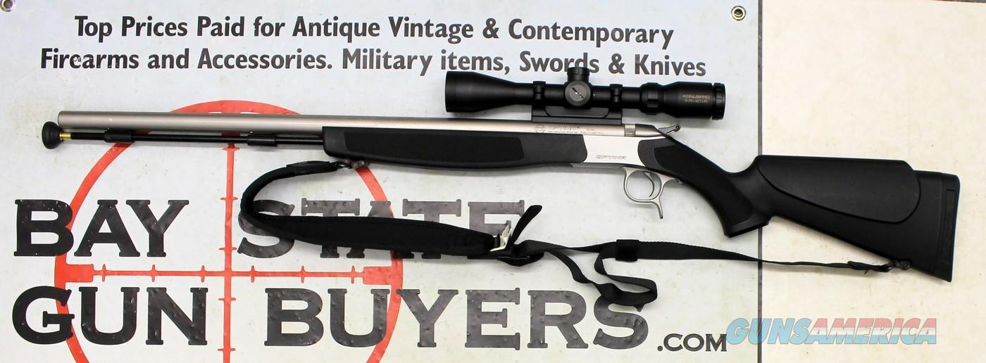 C V A  Optima V2 black powder muzzleloading rifle ~  50 Cal ~ KONUSPRO  3-9x40 Scope ~ CVA Padded Case