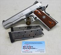 Ruger SR1911 semi-automatic pistol ~ .45ACP ~ (3) Magazines