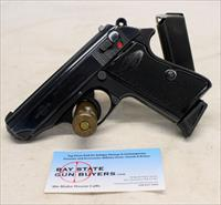 Manurhin PPK/S semi-automatic pistol ~ .380acp (9mm kurz) ~ WALTHER PATENT ~ Made in FRANCE