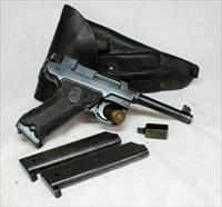 Lahti M/40S Danish Police semi-automatic pistol ~ 9mm ~ WWII Era (1944) ~ ORIGINAL HOLSTER
