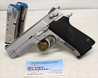 Smith & Wesson Model 4006 semi-automatic pistol ~ .40S&W ~ Stainless ~ (3) 10rd Magazines