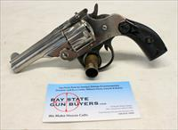 THAMES ARMS CO. Top Break Revolver ~ .32 S&W ~ Nickel ~ CASE COLORS