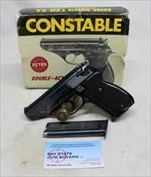 Astra CONSTABLE Semi-automatic Double Action Revolver ~ .22LR ~ ORIGINAL BOX