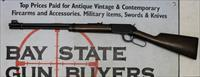early Winchester Model 9422M lever action rifle ~ .22WMR ~ Uncheckered Version