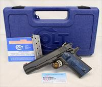 Colt GOVERNMENT Model COMPETITION Series semi-automatic pistol ~ 9mm ~ BOX AND MANUAL