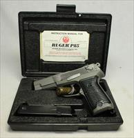 Ruger P85 semi-automatic pistol ~ EXCELLENT STAINLESS EXAMPLE ~ Box, Papers & Extra Mag