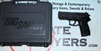 Sig Sauer Model SP2022 semi-automatic pistol ~ .40S&W ~ BOX & PAPERS plus extras!