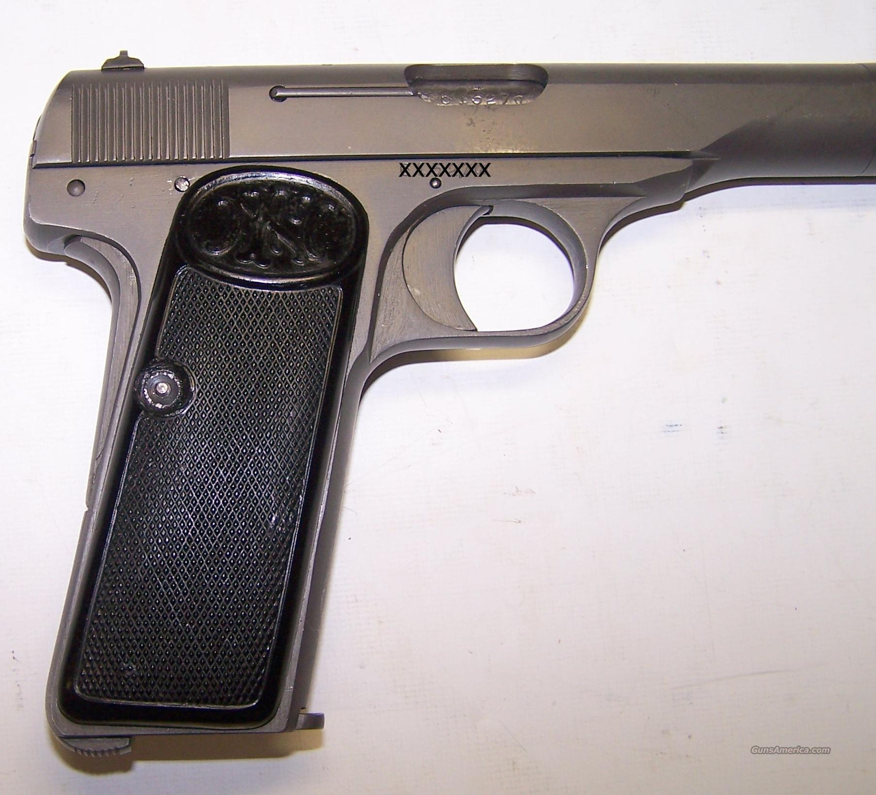 FN Model 1922 Pistol .32 Acp / 7.65mm NAZI PROO... For Sale