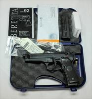 Beretta Model 92FS ~ 9mm ~ MADE IN ITALY ~ Box, Papers