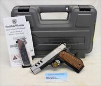 Smith & Wesson PERFORMANCE CENTER 1911 semi-automatic pistol ~ .45ACP ~ Ported Barrel ~ Custom Grips ~ BOX & MANUAL!