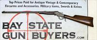 J. Stevens A&T CO. No. 17 FALLING BLOCK Lever Action Single Shot Rifle ~ .22LR ~ C&R ELIGIBLE