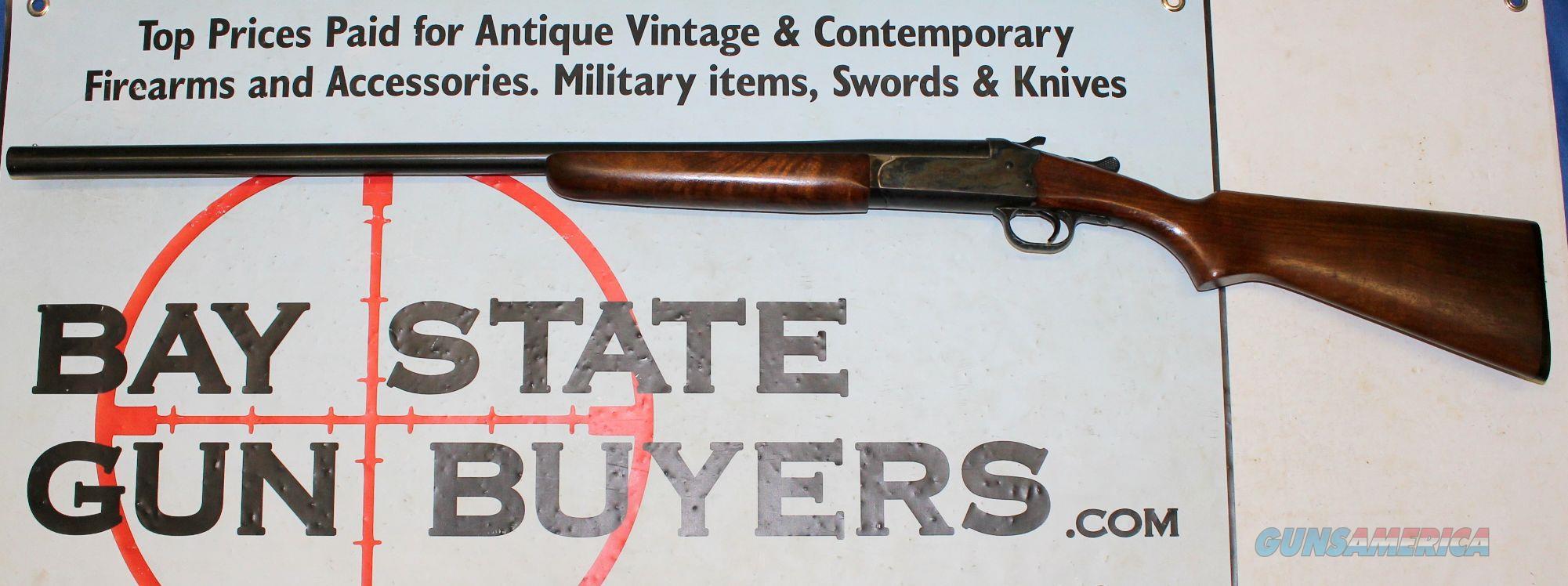 J. Stevens / Savage Arms Model 94C SINGLE SHOT 12 Ga Shotgun - BREAK ACTION