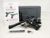 Ruger Mark III Target Pistol ~ .22LR ~ Complete Gun with Box, Manual & (2) Factory Magazines