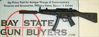 "H&K MP5 semi-automatic rifle - .22LR - 16"" Barrel MANUAL & (2) STOCKS HK Walther"