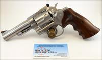 Ruger SECURITY SIX 6-shot DOUBLE ACTION revolver ~ .357 Magnum ~ Stainless