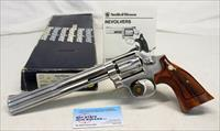"Smith & Wesson Model 617 NO DASH Revolver ~ .22LR ~ 8 3/8"" Stainless Version ~ BOX & MANUAL"