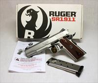 Ruger SR1911 semi-automatic pistol .45ACP ~ Box & Papers ~ 1911