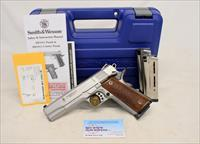 Smith & Wesson PRO SERIES 1911 semi-automatic pistol ~ 9mm Luger ~ Orig. Box, Manual and (3) 10rd Wilson Combat Magazines