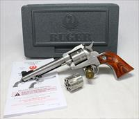 Ruger New Model Single Six CONVERTIBLE .22WMR/.22LR in Original Box ~ Stainless Steel