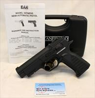 Tanfoglio WITNESS-P Semi-Automatic Pistol ~ 9mm Caliber ~ 16rd Capacity ~ Made in Italy