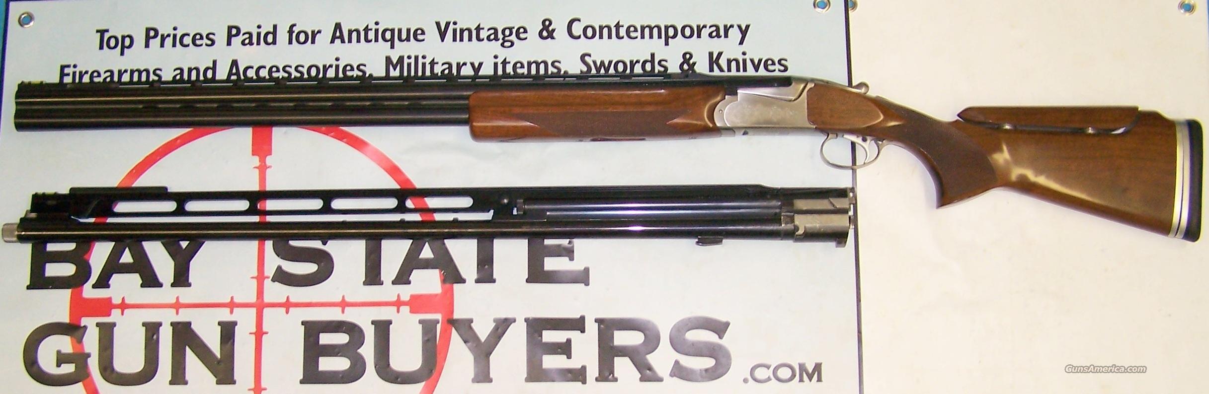 SKB Target Competition Model 85TSS Trap / Skeet Shotgun (2) Barrel Sets