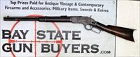 Antique Winchester MODEL 1873 SADDLE RING CARBINE ~ .32-20 ~ 1887 Mfg.
