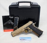 Sig Sauer EMPEROR SCORPION full size semi-automatic pistol ~ .45ACP ~ PVD Slide/Frame ~ BOX & MANUAL