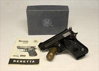 Beretta Model Model 950BS Tip Out .22 Short Pistol - BOX & MANUAL INCLUDED!