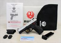 Ruger SR22 TWO TONE semi-automatic pistol ~ .22LR ~ BOX & MANUAL
